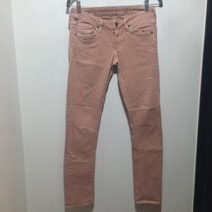 Citizens of Humanity pink distressed jeans 27